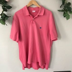 Brooks Brothers Large Pink Polo Shirt